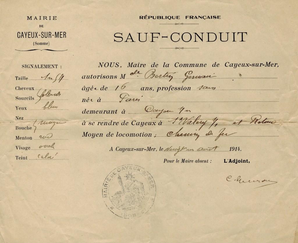 sauf conduit-21-08-1914