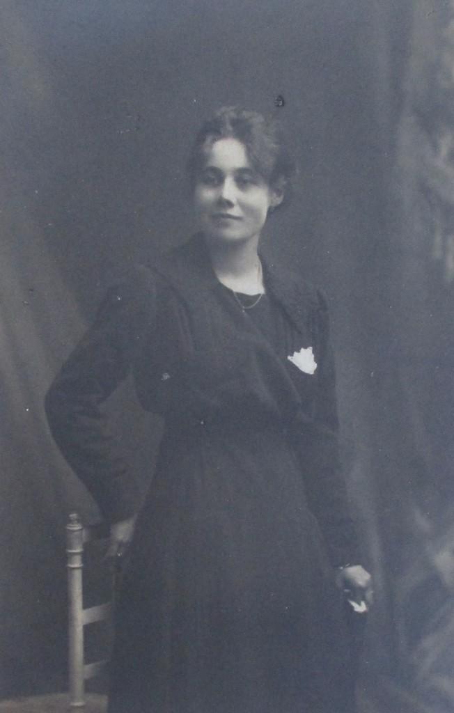 Yvonne en novembre 1917