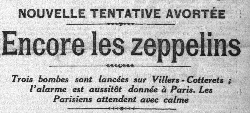 Encore deux Zeppelins