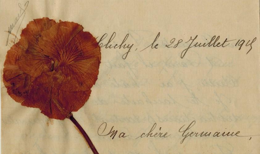 Lettre de Madeleine