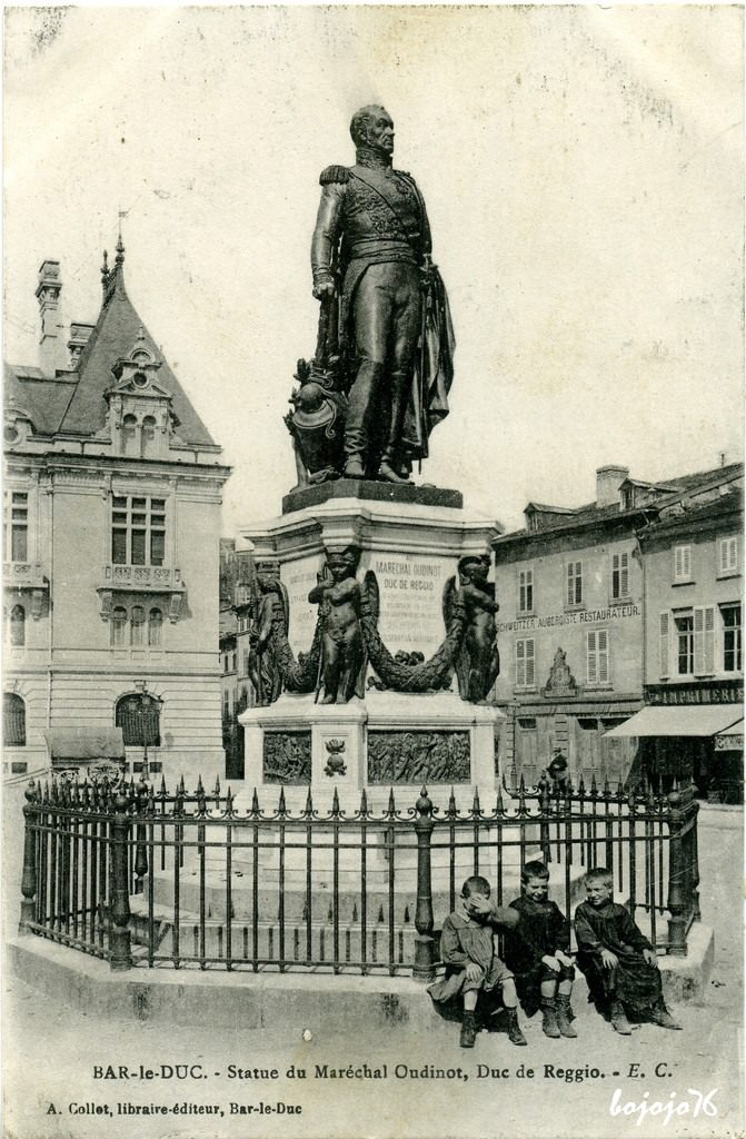 Bar-le-Duc-Statue-Mal-Oudinot