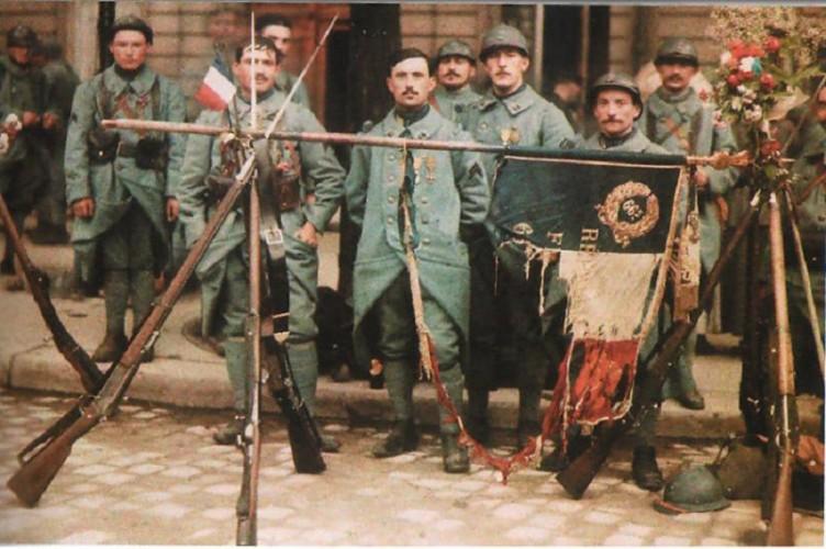 Défilé du 14 Juillet 1917