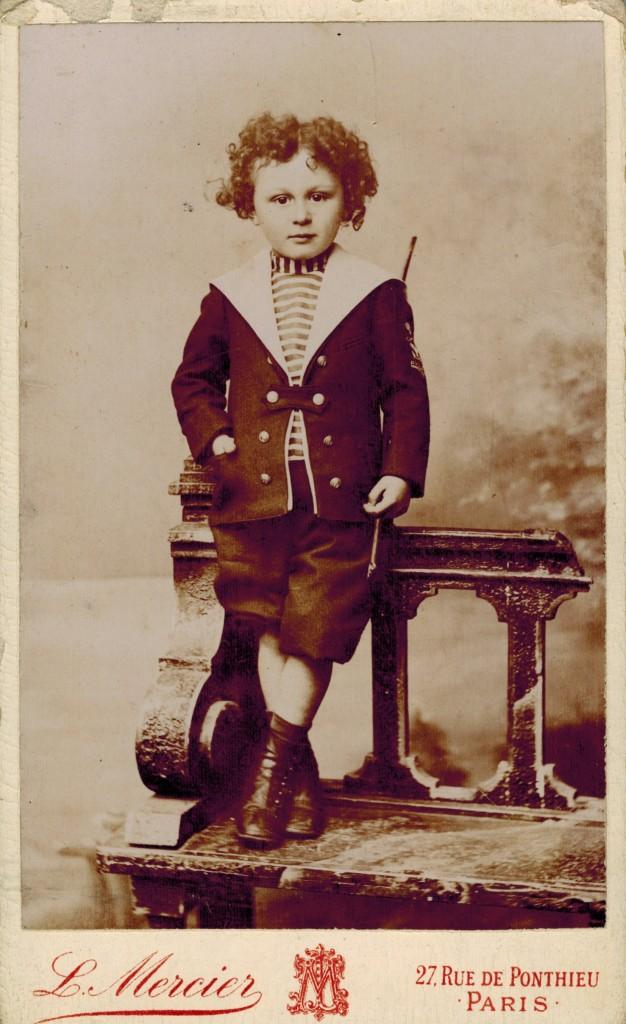 Jean Filleul en mai 1898
