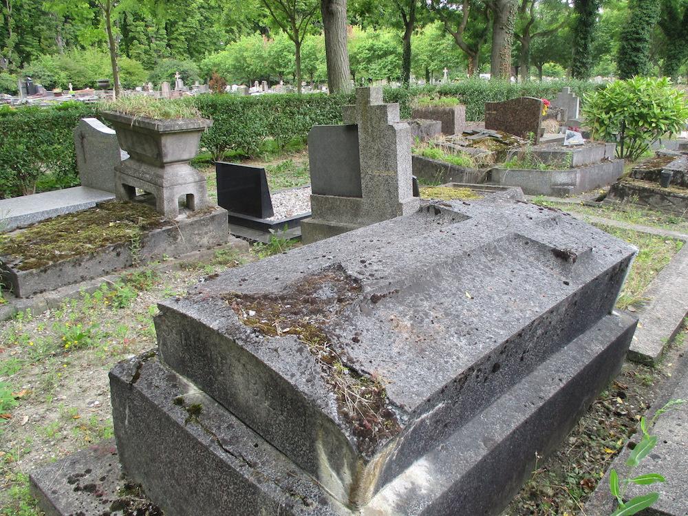 Sépulture Bertin, cimetière de Pantin