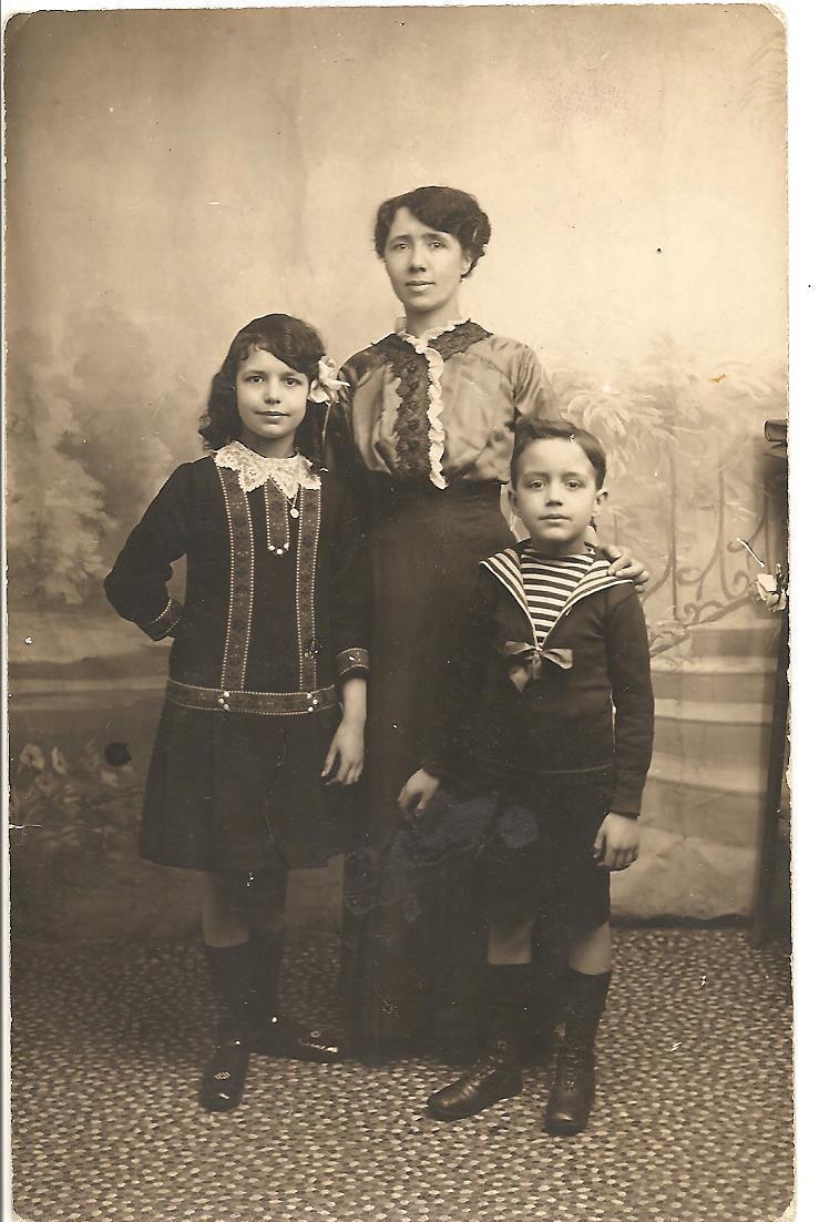 Berthe hilaire et ses enfants