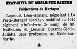 Le journal de l'Alençon, 08/08/1918