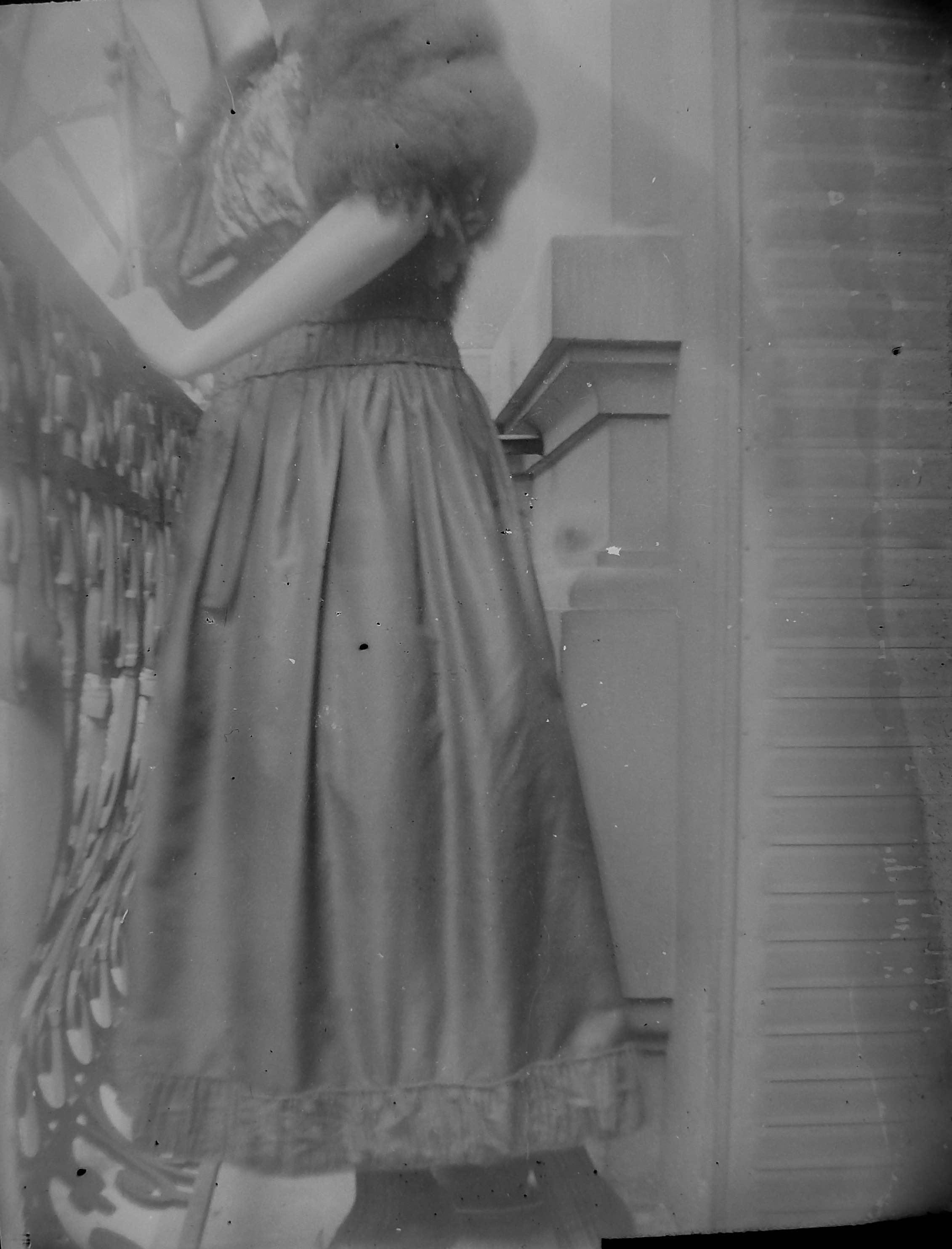 Photo prise sur le balcon de Germaine, au 112 Av Ledru-Rollin