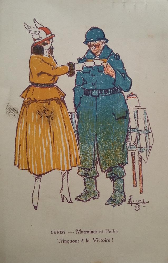 Voeux de Marie-Louise à Germaine