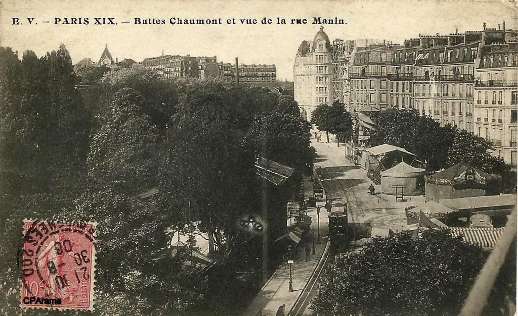 Appartement rue Manin